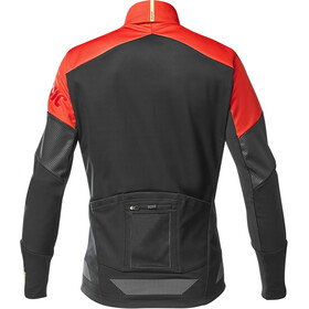 Mavic Cosmic Thermo Jacket Men black/fiery red